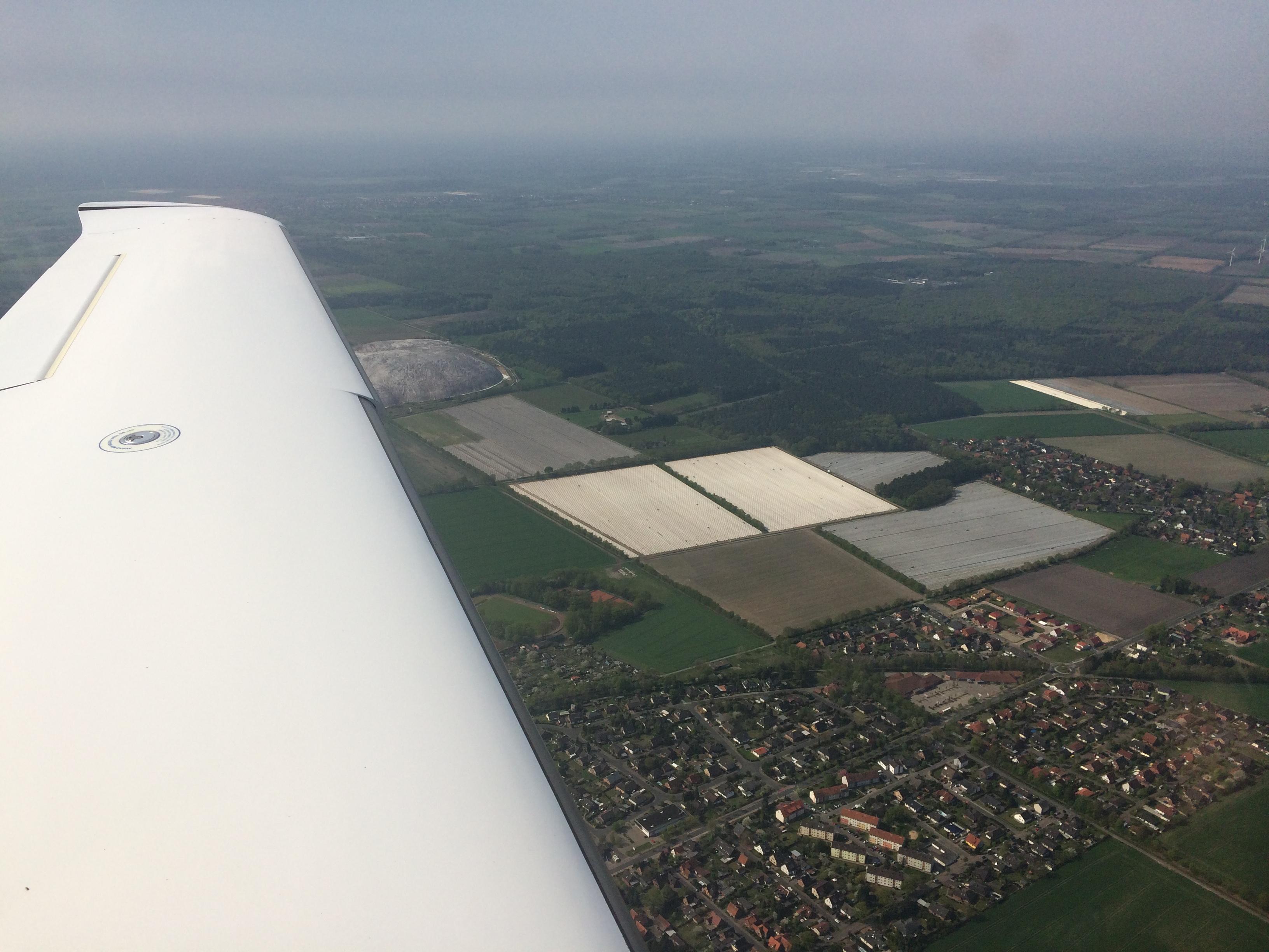 Kali Abraum südlich Celle
